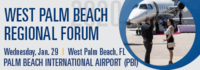 NBAA Regional Forum - West Palm Beach 2020 logo